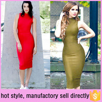 2016 hot style Off Shoulder sex bandage dress manufactory sell directly