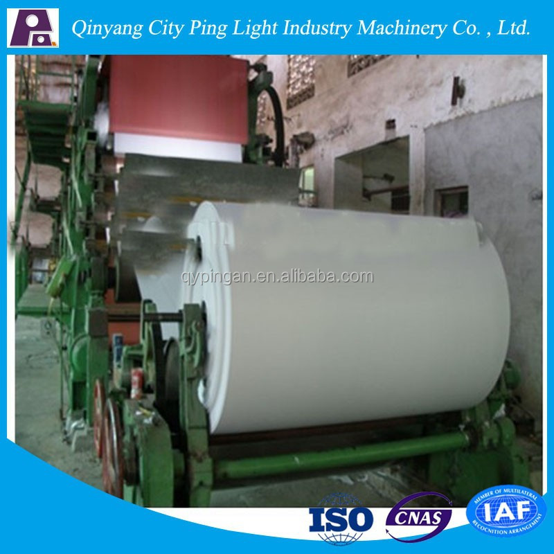 1575mm waste paper recycling copy paper making machine ,Fully Automatic Exercise Book Machine