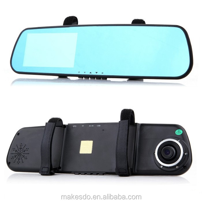 high quality Fattty M1 car dvr with dual camera front and back recording same time