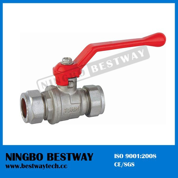 High Performance Brass Ball Valve with Pipe Fitting