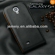 For Samsung Galaxy S4 I9500 Genuine Real Leather Flip case cover mobile phone case