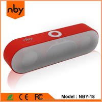 New mini gadget 2016 wireless music portable subwoofer bluetooth speaker for computer