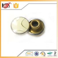 open top shank button rivet buttons for shoes custom decorative metal jeans rivet for alll kind of garment