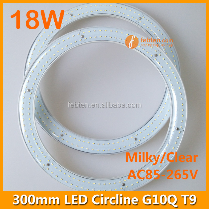 300mm 18w T9 G10q Circular Led Circle Ring Light