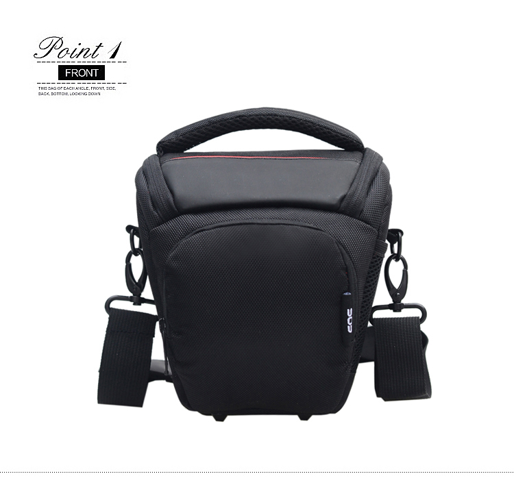 Fancy unique digital nylon dslr camera bag