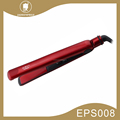 Dual voltage 110-220V ceramic electric hair straightener for curly hair EPS008