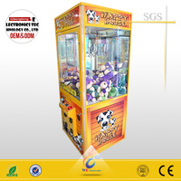 Happy House crane claw machine ,claw crane vending machines for sale
