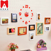 2016 hot sale Chinese funia photo frame family, new western style picture frame led home decor tube8