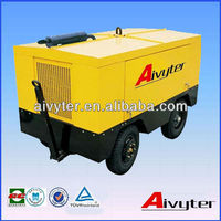 Bar mobile cummins diesel air compressor for water well drill rig