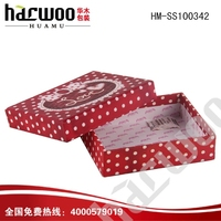 Colorful pinted cardboard paper T-shirt packing box