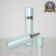 glass body lotion bottle airless pump 5ml acrylic for tablet