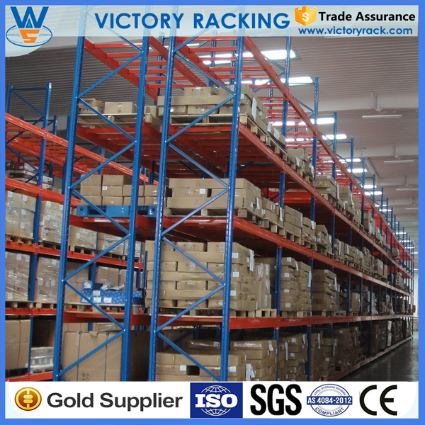 Cold Rolled Steel Selective Adjustable Beam Warehouse Storage Heavy Duty Pallet Rack