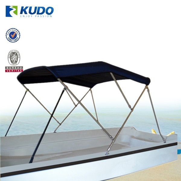 600D UV Waterproof 3 Bow Bimini Top Frame Boat Cover