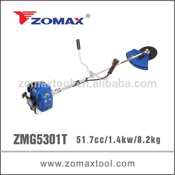 ZMG5301T 52cc 1.3kw brush cutter brand name lubricants