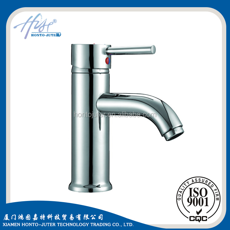 Factory customerized single handle mixer brass European basin faucet tap feel good