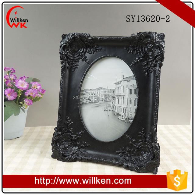 Large Black Ornate Baroque Picture Frames for Home Decor