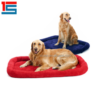 animal shaped luxury fleece cotton pet dog supplies bed