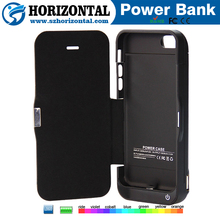QQPOW Battery case for iphone 5 ,for iphone 5 battery charger case, phone accessory wallet battery case for iphone 5