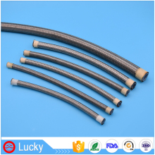 1/2 Inch High Pressure Corrosion Resistant Durable Stainless Steel Wire Braided Teflon PTFE Smooth Tube for Brake Oil Hose