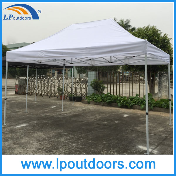 Outdoor steel frame advertising canopy folding tent for event