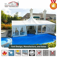 20 ft x 40 ft Mobile Pagoda Tent / 2040 PVC Pagoda Party Tent for Sale