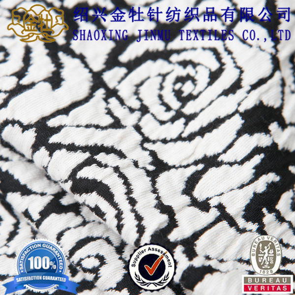 Hot sale poly cotton european style textile jacquard fabric designs