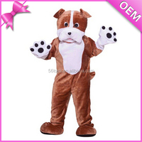 2015 Fashion party cosplay plush animal costume promotional cute plush kids monkey costume
