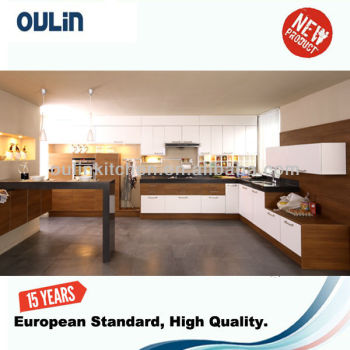 Remix high quality melamine kitchen cabinets with Blum hardware