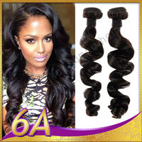 wholesale free sample 7A and cheap no chemical processed blossom bundles virgin hair