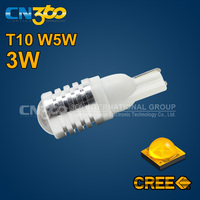 High cost-effective mini size t10 led 3w clearance lights signal lamp bulbs