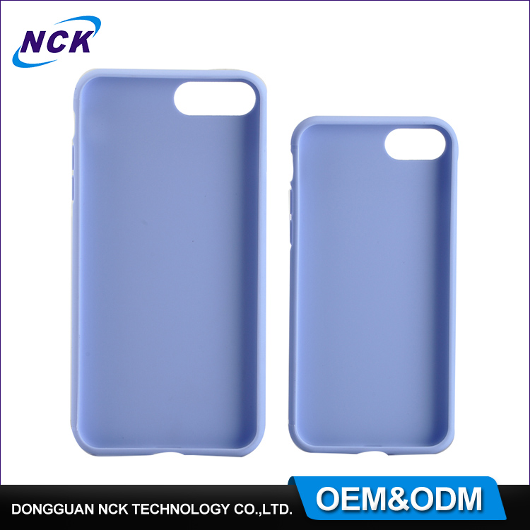 2017 Custom soft silicone tpu plastic pure mobile phone back shell case for iphone 5 5s 6s 6plus 7 7plus