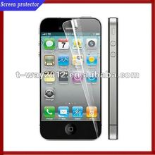 Mobile phone clear screen protector for iphone 5