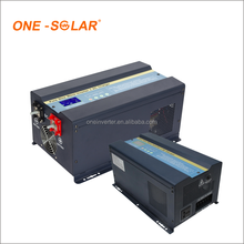 5KW 7KVA 24V 48V Pure Sine Wave 5000W DC to AC Solar Power Inverter Hybrid with MPPT Solar Charge Controller AC Charger