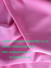 Shiny Polyester Spandex warp knitting fabric
