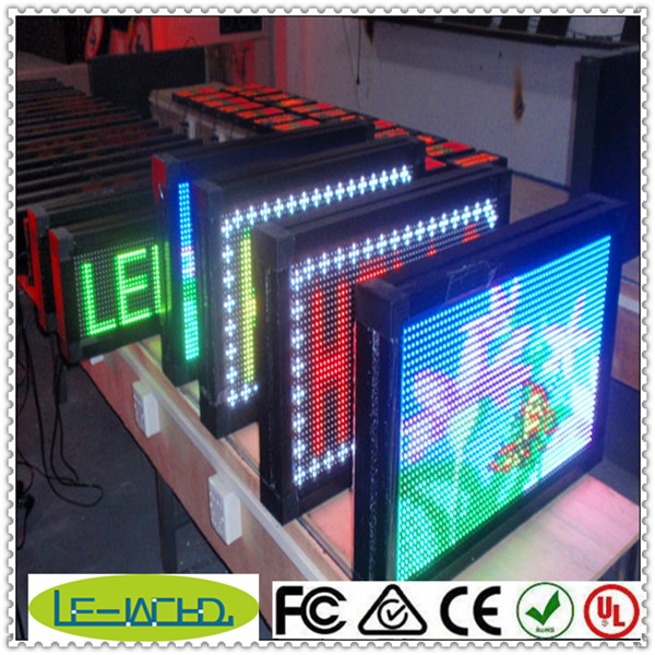 full color video p10 p20 scoreboard electronic digital led moving display