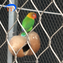 stainless steel bird cable netting,Bird cage trap,bird aviary for sale SS 304 316 316L China Factory