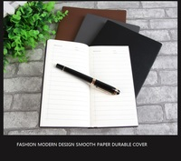 fancy office pu leather cover all sizes note book