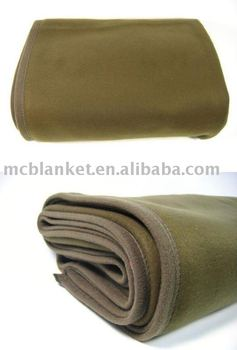 Army polyester blanket