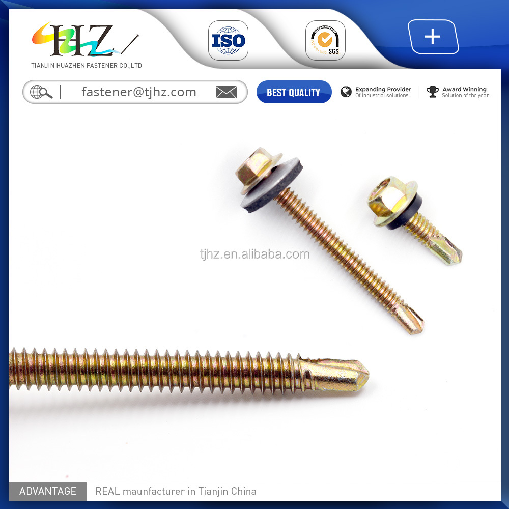 DIN7504k High Quality and Cheap Price <strong>C1022</strong> wing teks thread type self drilling screw