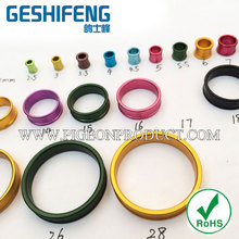Aluminium ring homing pigeon foot bands for parrot lovebird color circle pet products