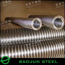 304 polished stainless steel flexible metal tubing