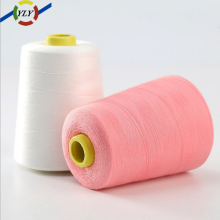 spun polyester sewing thread manufacturing process kite flying thread in bulk for jeans