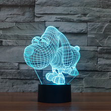 FS-2860 Big Eye Dog Small Night Light Creative Idea 3D Effect Table Led Light