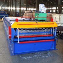 double layer tile press machine manufacturers roll forming machinery UZ Profile drawing