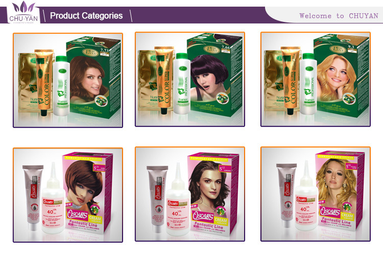 OEM professional salon permanent hair color cream harmless the black magic combs hair color hair dye