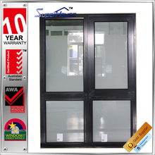 New design soundproof awning electric house windows