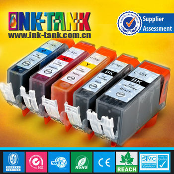Compatible canon ink cartridge pgi-525 cli-526