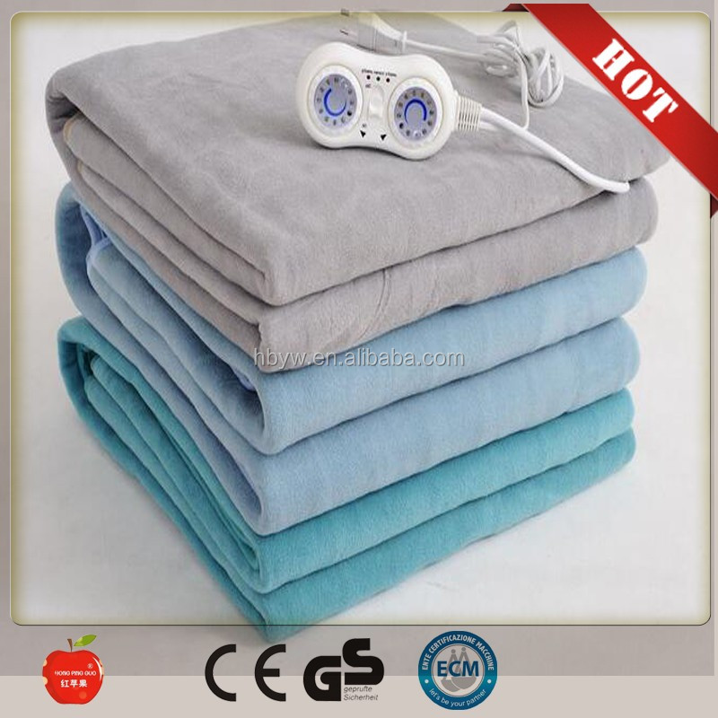 New products 2016 innovative product room heater High Quality Portable single Polyester Electric Blanket/<strong>heat</strong> up blanket 220v