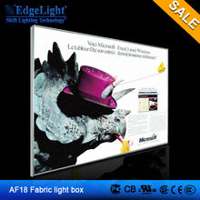 led canvas light frame fabric insert style ultra thin light box