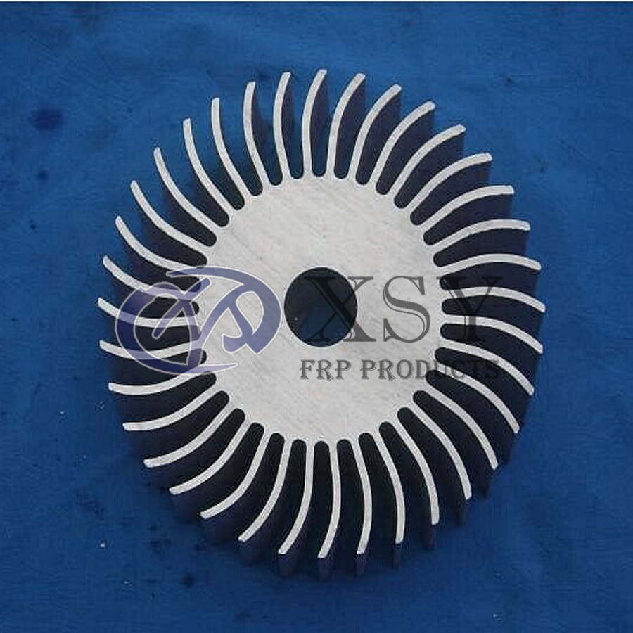 Hollow Round Led Heatsink Aluminum Radiator Extrusion Aluminum Profiles